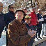 Puertollano: Los jubilados toman el paseo clamando por unas pensiones dignas