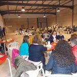 Niños y mayores protagonizaron el carnavalesco entierro de la sardina en Villamayor de Calatrava