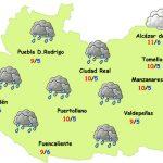 El tiempo en Ciudad Real: menos lluvia, más frío