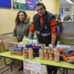 Protección Civil de Daimiel desarrolla una campaña de recogida de alimentos