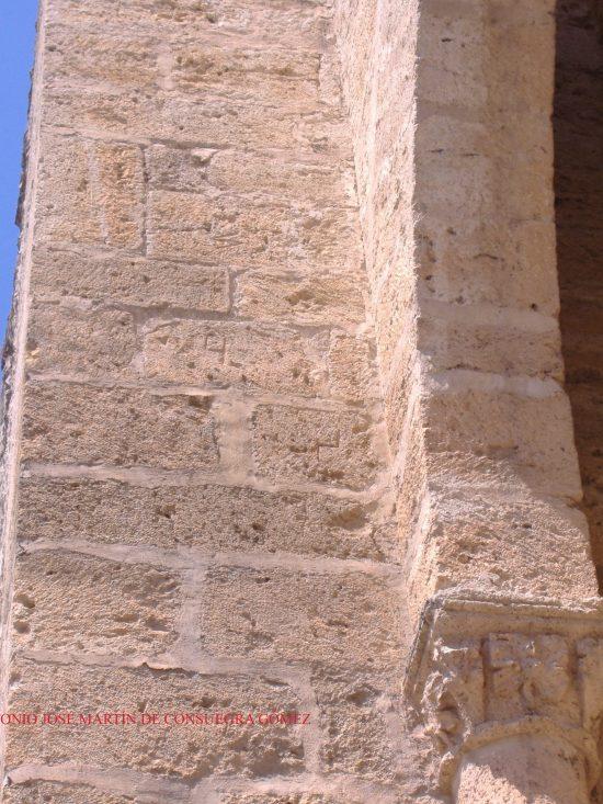 Algunas marcas de cantero en la Puerta de Toledo
