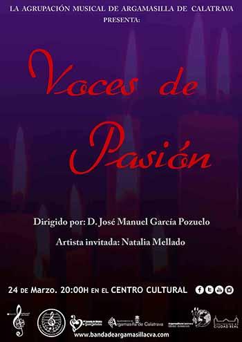 Cartel 'Voces de Pasión'