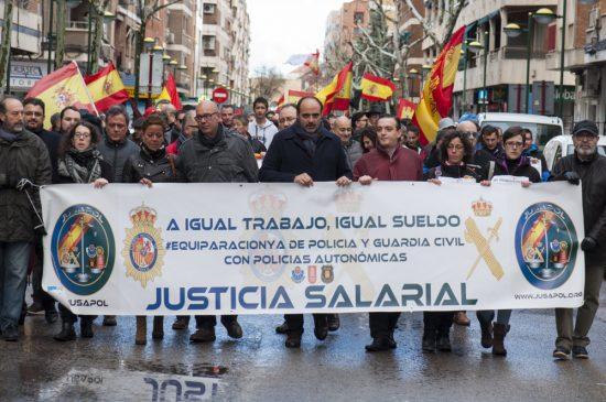 Manifestación JUSAPOL - 9
