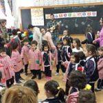 El colegio Maestro Ávila y Santa Teresa celebra una jornada de inclusión con alumnos del colegio Aspades-La Laguna