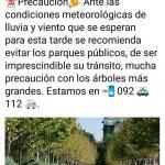 La Policía Local de Ciudad Real recomienda evitar los parques públicos esta tarde