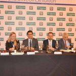 Caballero reitera el compromiso de la Diputación de Ciudad Real con las denominaciones de origen y marca de calidad del Aceite de Oliva