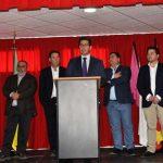 Caballero inaugura el Centro Social de Santa Cruz de los Cáñamos