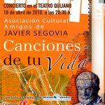Amigos de Javier Segovia ofrecerá un concierto a beneficio de Manos Unidas