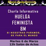 Comunicado: Charla informativa sobre la huelga feminista en el Hospital de Ciudad Real