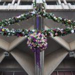 Ciudad Real: La Casa Consistorial se engalana para la Semana Santa