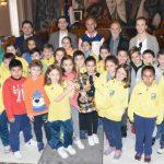 El presidente de la Diputación recibe a los alumnos del Ferroviario por la obtención de la Copa que les acredita con los Premios Nacionales del Deporte 2016