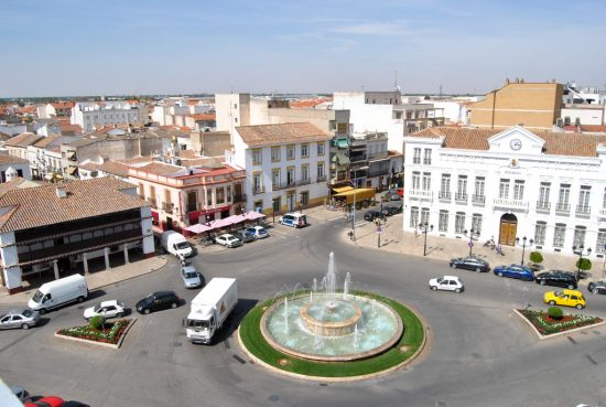 plaza españa tomelloso
