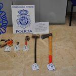La Policía Nacional detiene a cuatro personas como presuntas autoras de dos robos con fuerza en Valdepeñas