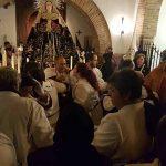 Lágrimas a la entrada de la Soledad en Puertollano