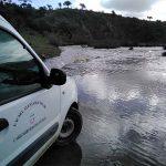 Las continuas crecidas de río Tablillas cortan el acceso desde Cabezarrubias del Puerto a Ventillas