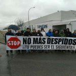 El comité de empresa de Vestas protesta por los despidos y la política de personal