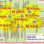 Alertan de vientos de hasta 80 kilómetros/hora en Puertollano