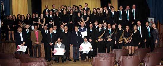 villarrubia premiados 2 jurados autoridades y agrupacion musical local