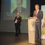 Zapatero recoge el premio a la igualdad del Ayuntamiento de Manzanares