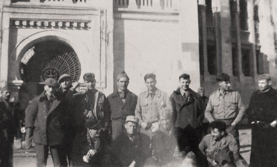 Brigadistas en Albacete (Fuente: CEDOBI)