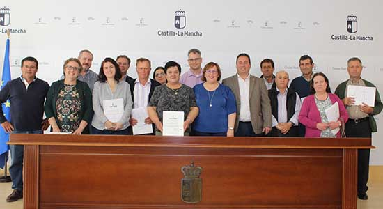 Carmen Olmedo concentracion parcelaria Porzuna