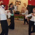 Primera noche de farolillos y sevillanas en la Feria de Abril de Ciudad Real