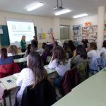 Estudiantes de farmacia y parafarmacia del IES Torreón del Alcázar han sido informados por CSIF sobre salidas profesionales, bolsa de trabajo y oposiciones
