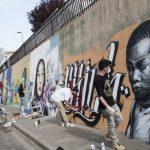 Ciudad Real: El III Encuentro de Arte Urbano continuará el muro de grafitis de la calle Laguna de la Posadilla