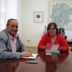 Reunión del secretario de Transporte Público del PSOE provincial de Ciudad Real con la delegada de la Junta de Comunidades