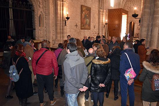 Turistas visitando San Pedro