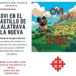 """Yolanda de Gregorio presente este sábado su cuento """"Ovi en el Castillo de Calatrava"""""""