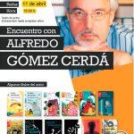 Encuentro en la Biblioteca con el autor de literatura infantil y juvenil Alfredo Gómez Cerdá