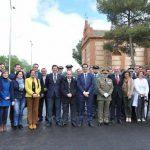 Caballero resalta el apoyo de la Diputación a las tradiciones de los pueblos y a la conservación del patrimonio provincial