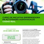 Curso de emprendimiento en actividades Audiovisuales y creativas