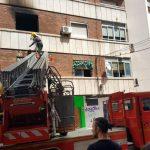 Ciudad Real: Los bomberos apagan un incendio en un vivienda de la calle Tinte, en el que ha fallecido un perro