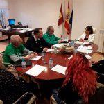 Inmaculada Herranz se reúne con la Plataforma de Afectados por la Hipoteca de Ciudad Real