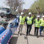 """Ciudad Real: La renovación de la red de abastecimiento de la Avenida de Europa, una de las """"arterias"""" de la ciudad, finalizará antes del plazo previsto"""