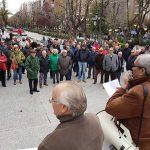 Puertollano: Los pensionistas exigen que se garanticen sus pensiones en los Presupuestos Generales del Estado