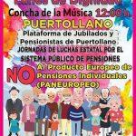 La Plataforma de Jubilados y Pensionistas de Puertollano convocará concentraciones todos los lunes de abril