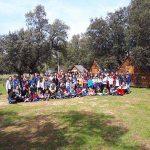 El Grupo Scout Siles 361 de Ciudad Real realizó su habitual Campamento de Semana Santa