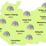 El tiempo en Ciudad Real: algunas tormentas de tarde