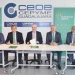 Eurocaja Rural habilita 60 millones de euros a las empresas y autónomos alcarreños para financiar su actividad