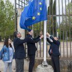 El Ayuntamiento de Ciudad Real enarbola los ideales de la Unión en la avenida de Europa