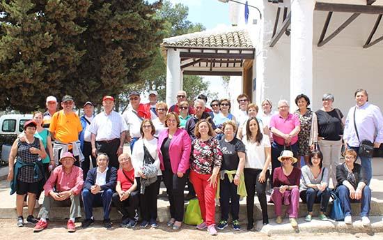 Carmen Olmedo ruta senderista Campo de Criptana 1
