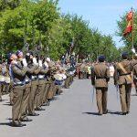 Multitudinaria afluencia de público en la Jura de Bandera civil donde se comprometieron 280 personas en Daimiel