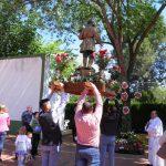 La Poblachuela celebra San Isidro y su primer concurso de cruces de mayo