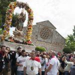 Las tormentas dan un respiro a los romeros en Alarcos