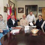 Aldea del Rey: Firman el acta de replanteo para las obras que van a permitir recuperar el Palacio de Clavería con usos de hospedería