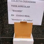 Ciudad Real: «Colecta ciudadana» para arreglar baches