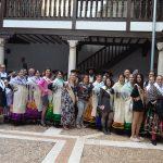 Colorida recepción de los grupos del XIX Festival Folclórico  Virgen de Alarcos